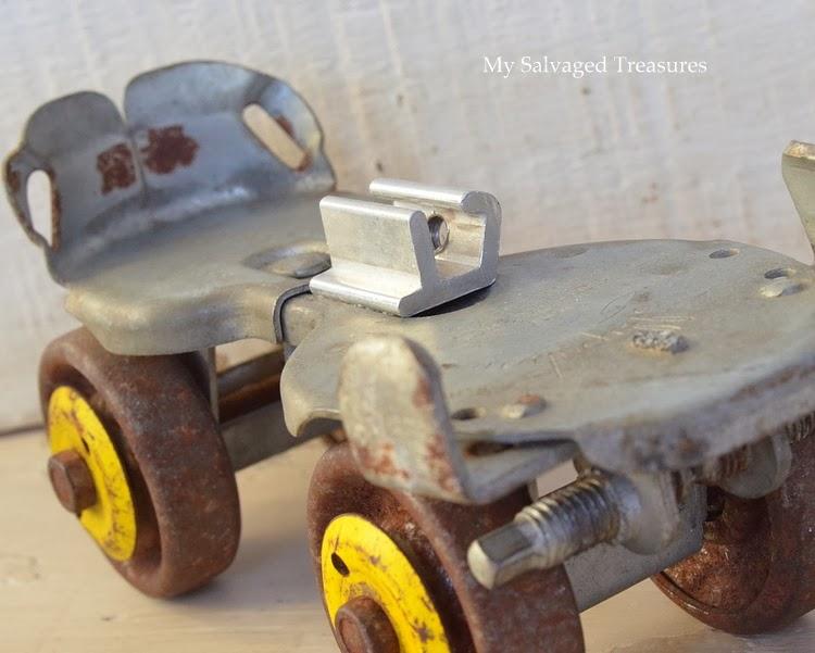 rusty roller skate