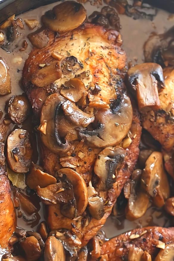 Skillet Balsamic Garlic Chicken Recipe