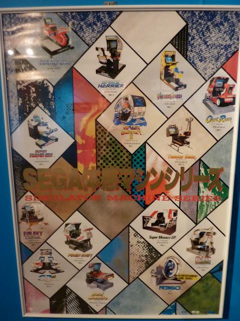 Sega Taikan games poster