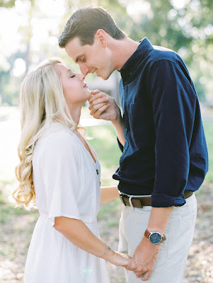 engagement photos of bride and groom