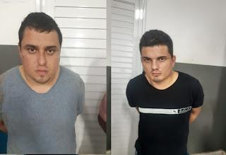Policiais Militares prenderam suspeitos de assaltarem Lojas Americanas em Zé Doca-MA