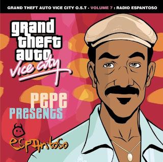 GTA Vice City Radio Espantoso CD Capa