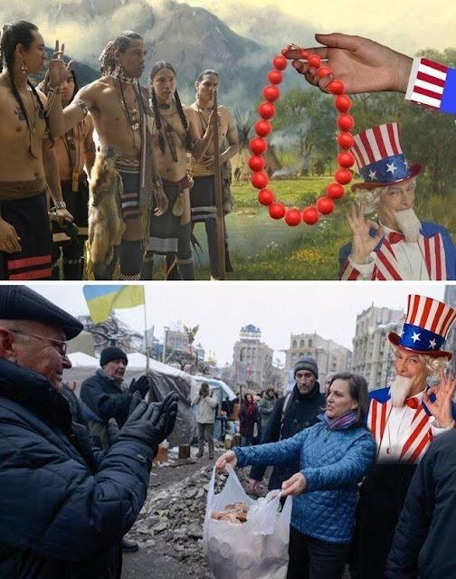 ABŞ-IN RUSİYADA PUL PAYLAYAN XEYİR MƏLƏKLƏRİ