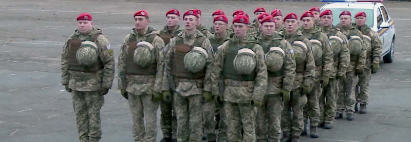 У Запоріжжі створили взвод військової поліції ЛИТПОЛУКРБРИГ