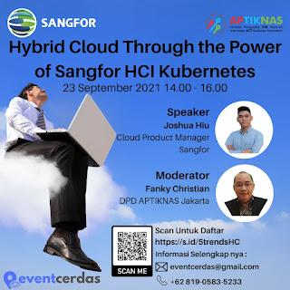5 Trends in Corp IT berlanjut, membahas Hybrid Cloud bersama Sangfor