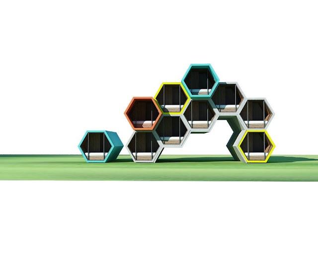 Mô hình homestay hình tổ ong độc đáo