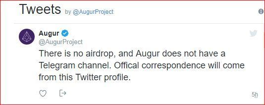 augur-There-is-no-airdrop