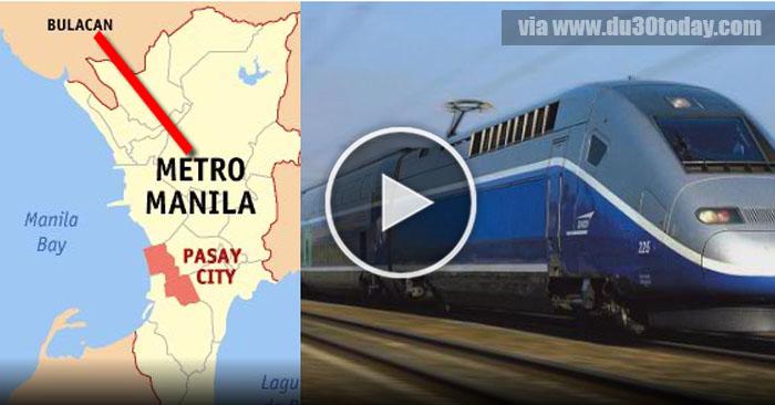 PANOORIN!  Uumpisahan Na Ang Manila To Bulacan Railway Project!