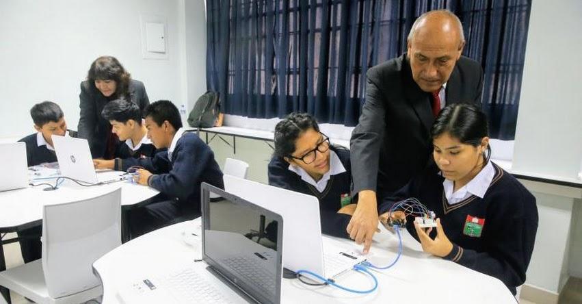 MINEDU: Calificación con letras se implementará en secundaria de manera gradual, informó el Ministro de Educación, Daniel Alfaro - www.minedu.gob.pe