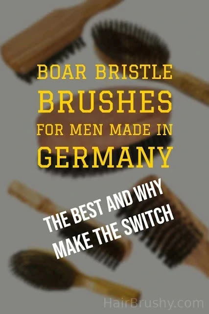 Made in Germany Boar Brushes For Men