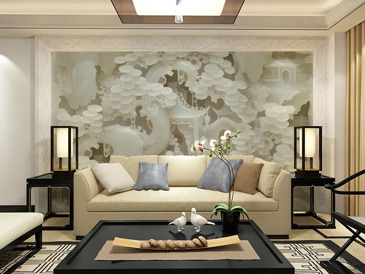 construindo minha casa clean papel de parede ou tecido veja dicas e ideias. Black Bedroom Furniture Sets. Home Design Ideas