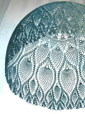 abażury szydełkiem wzory