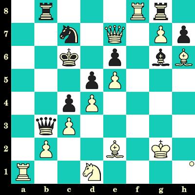 Les Blancs jouent et matent en 2 coups - Anastasia Bodnaruk vs Thi Kim Phung Vo, Saint-Pétersbourg, 2018
