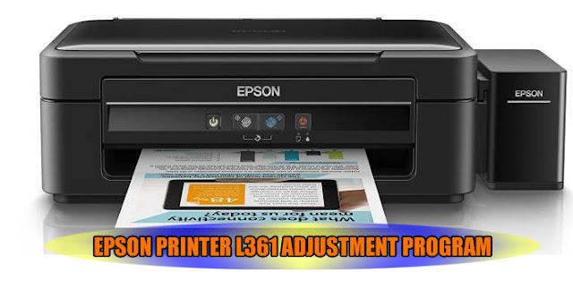 EPSON L361 PRINTER ADJUSTMENT PROGRAM