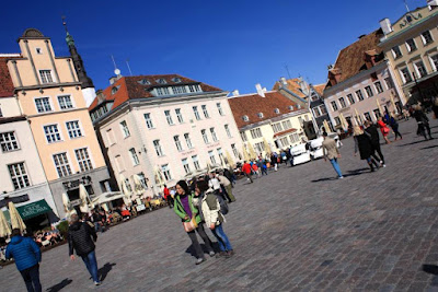 Town Hall Square in Tallinn