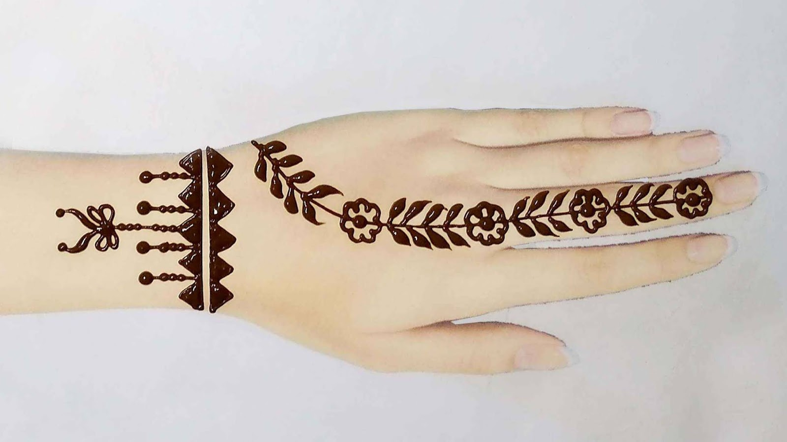 mehndi tattoo designs for hands