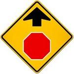 stop ahead in spanish