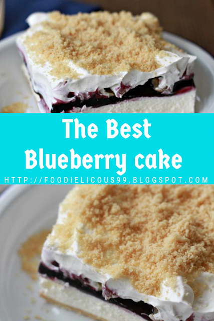 The Best Blueberry cake