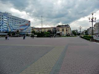 Івано-Франківськ. Площа Івана Франка