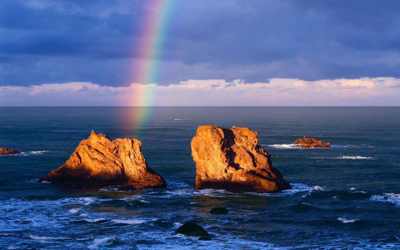 Hd Wallpapers Of S: Regenboog Achtergronden