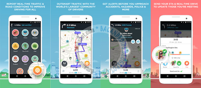 Waze Apk GPS Maps & Traffic for android