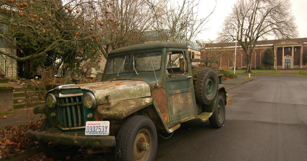 Best Overland Vehicles >> OLD PARKED CARS.: 1951 Willys Truck.