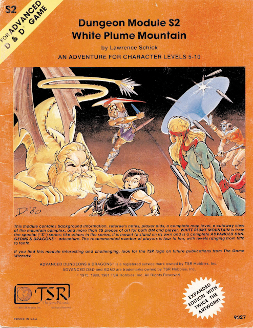 The Other Side blog: White Plume Mountain at DriveThruRPG