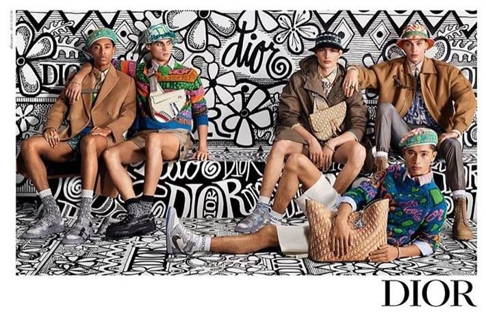 Dior Menswear Pre Fall 2020 Ad Campaign