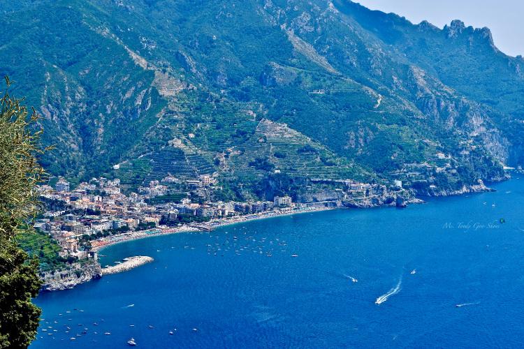 Eagle-eye views of Minori and Maiori, Italy- Ms. Toody Goo Shoes