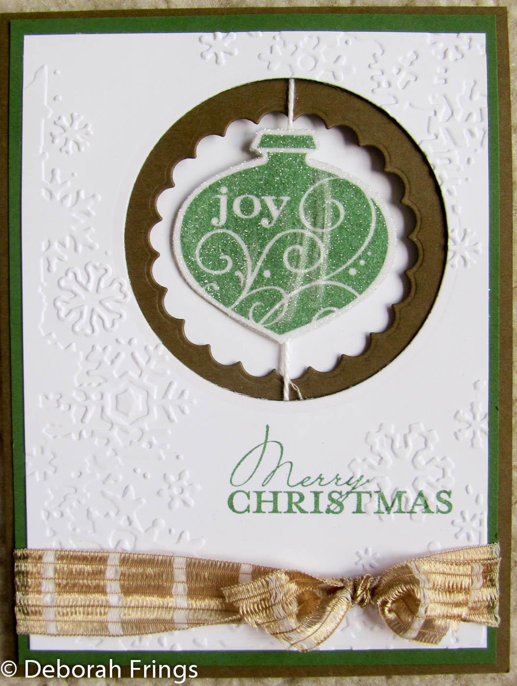 Deborah\'s Gems: Christmas set ....