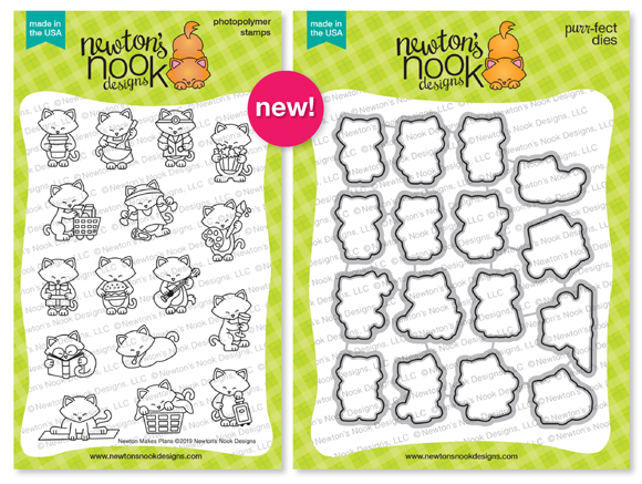 Newton Makes Plans | Planner Stamp Set by Newton's Nook Designs #newtonsnook