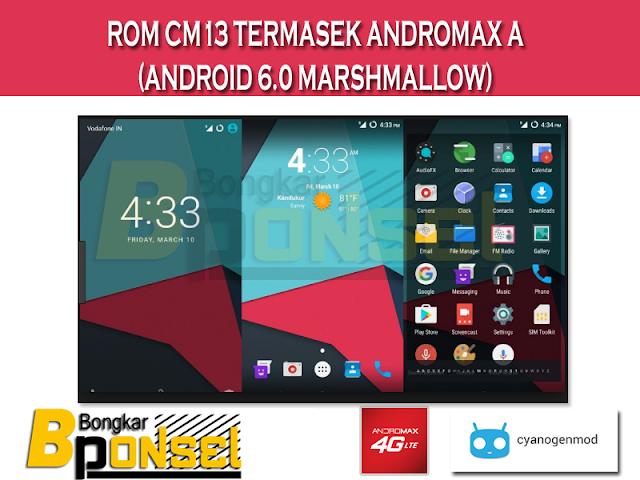 ROM CM13 Temasek Andromax A