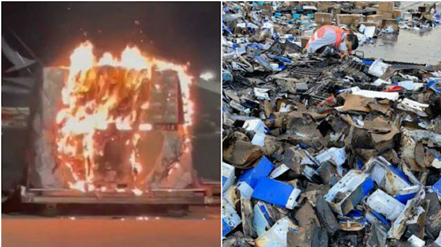 Ponsel China Terbakar, Garuda Indonesia Larang Kargo Semua Jenis Ponsel Vivo