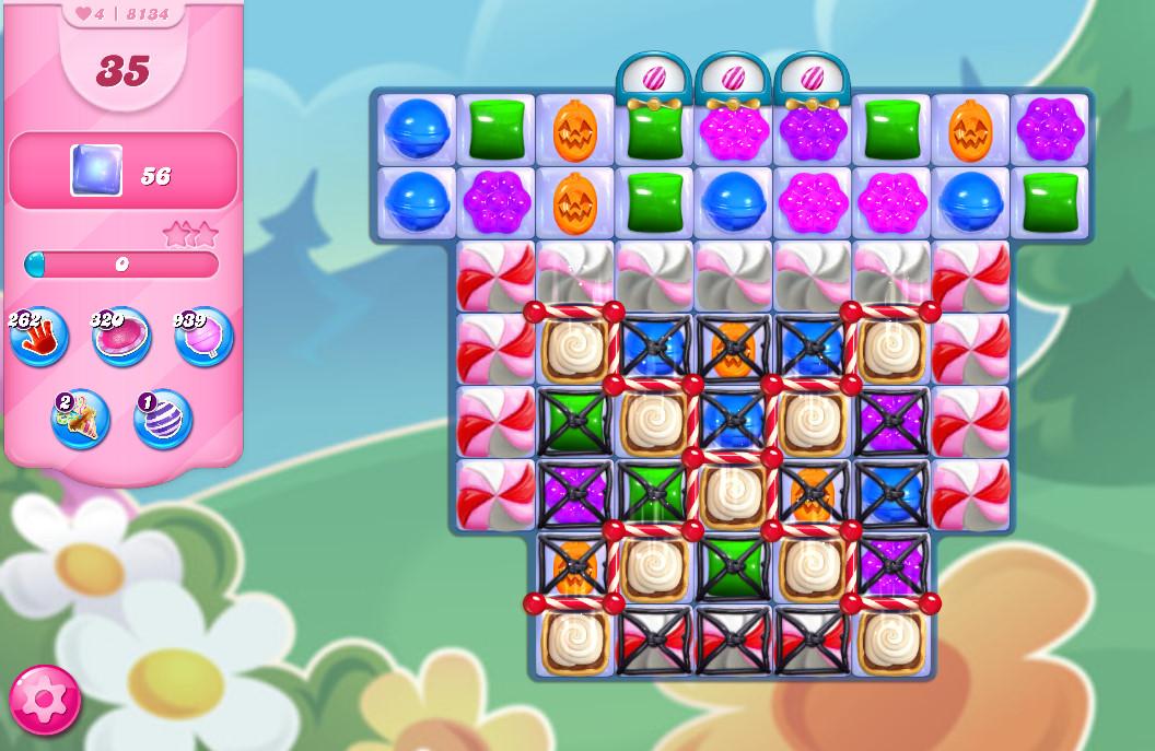 Candy Crush Saga level 8134