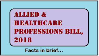 Cabinet approves the Allied and Healthcare Professions Bill, 2018