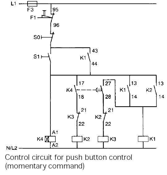 Typical circuit diagram of Star Delta starter   PLC, PLC LADDER, PLC EBOOK, PLC PROGRAMMING,