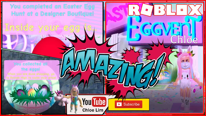 Roblox Royale High Gameplay! Part 1 - Easter EVENT - First 3 Homestores! Eggs Location and What Rewards I got!