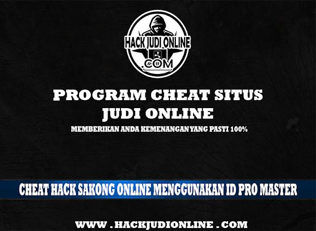 Cheat Hack Sakong Online Menggunakan Id Pro Master