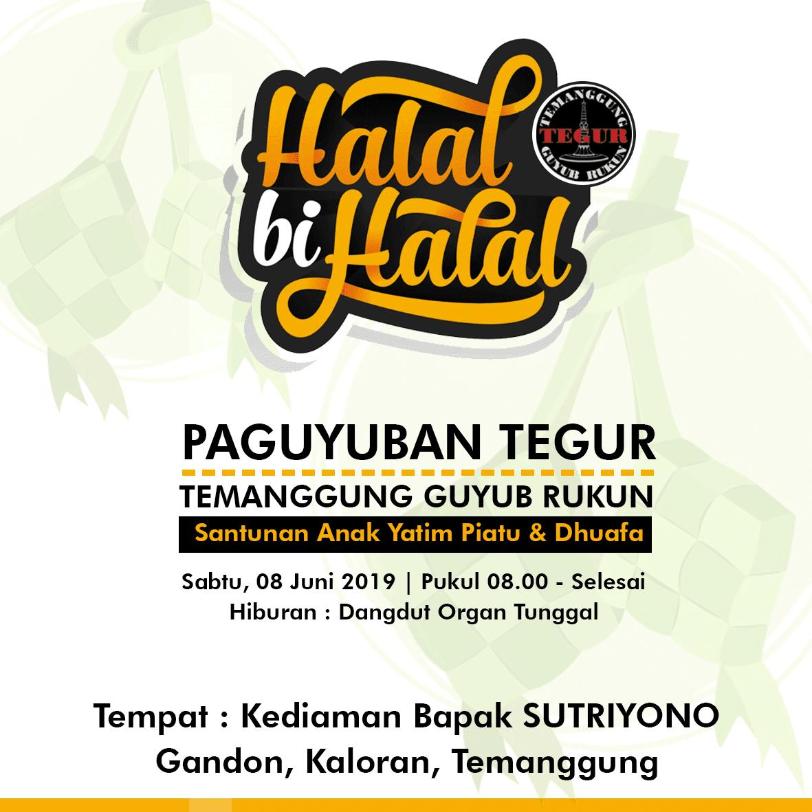 Kaos Spanduk Halal Bi Halal Hubungi 085219874895 Honion Jiddane