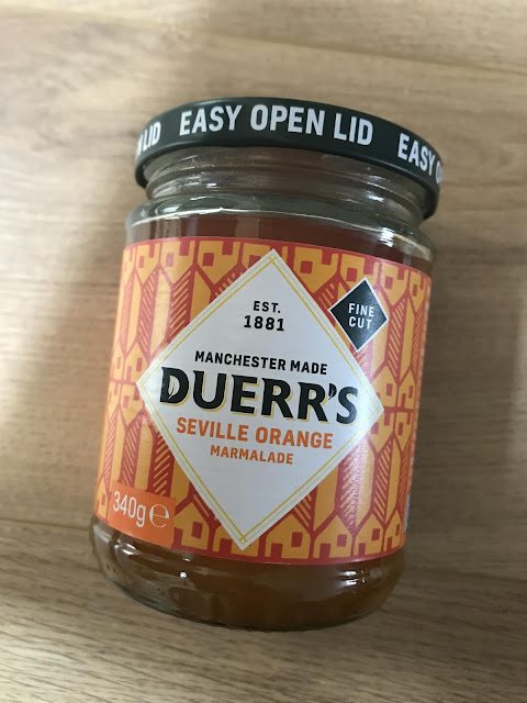 Duerr's Fine Cut Seville Orange Marmalade -£1.39 - Product of the month in Degustabox November 2019.