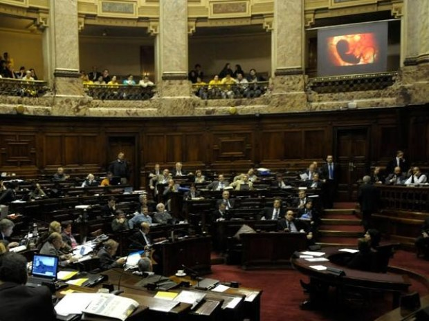 Congreso de Uruguay y el aborto