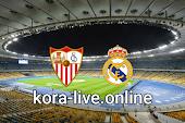 مباراة ريال مدريد واشبيلية بث مباشر بتاريخ 09-05-2021 الدوري الاسباني