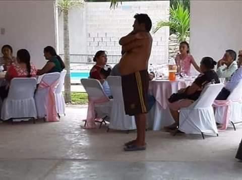 """La triste historia de el """"Panter"""" el yucateco sin camisa que se volvió viral en los memes"""