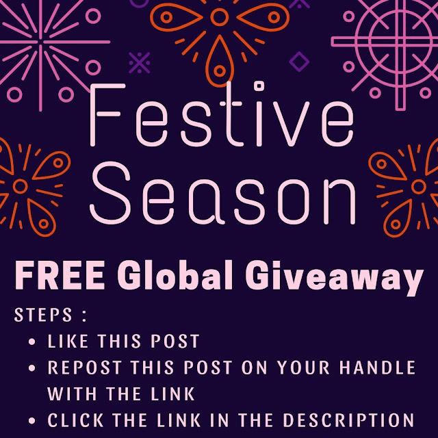 festive season global giveaway