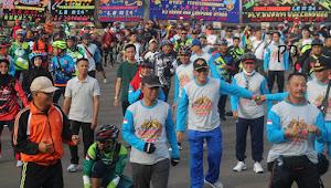 2500 Goweser se-Lampung, Satu sepeda sejuta sahabat