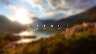 Deepin Linux Lock Screen Blur Wallpaper
