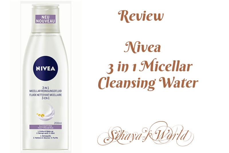review lotiune micelara nivea 3 in 1
