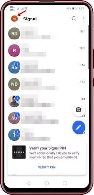 Cara Menonaktifkan Screenshot di Signal Private Messenger-2