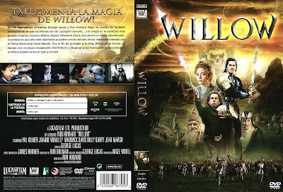 Carátula dvd: Willow (1988) - Descargar y online