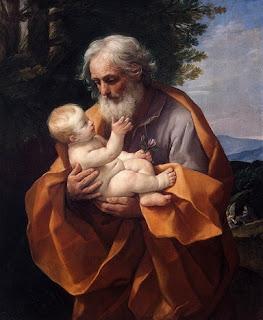 Nomes bíblicos estrangeiros masculinos com Y - Imagem: José e menino Jesus - Guido Reni